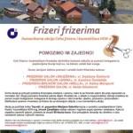 """Ceh frizera i kozmetičara HOK-a u akciji """"Frizeri frizerima"""" prikuplja donacije za opremanje frizerskih salona u Gunji"""